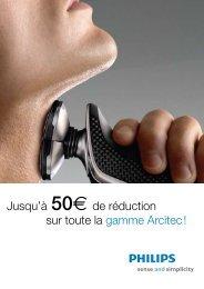 Tot h Jusqu'à 50e de réduction sur toute la gamme Arcitec ! - Philips