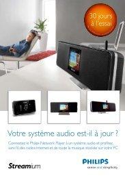Votre système audio est-il à jour ? - Philips