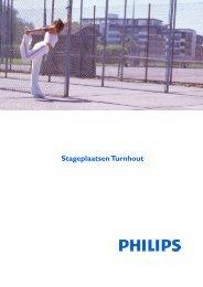 Stageplaatsen Turnhout - Philips