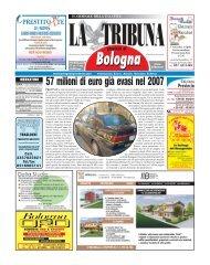 57 milioni di euro già evasi nel 2007 - La Tribuna