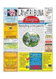 Restyling a tre parchi - La Tribuna