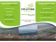 Site Photos and Project Site Plans - Tri-Cities Research District