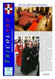 Speciale XXI Capitolo Generale - Tricolore Italia