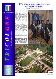 Speciale - II Tavola rotonda internazionale sulla ... - Tricolore Italia