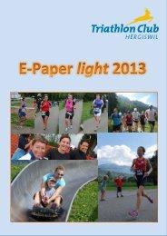 E-Paper 2013 - Triathlonclub Hergiswil