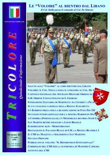Tricolore n.227 - Tricolore Italia