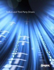 Tridium and Third Party Drivers