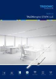 Leaflet TALEXXengine STARK LLE - Tridonic
