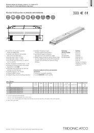 PCA 3x4x T5 ECO lp 14–24 W 220–240 V 50/60/0 Hz - Tridonic