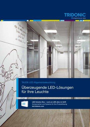 Überzeugende LED-Lösungen für Ihre Leuchte - Tridonic