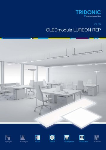 Leaflet OLEDmodule LUREON REP - Tridonic