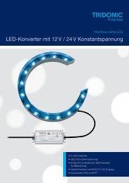 Leaflet TALEXXconverter LCU - Tridonic
