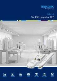Tconverter TEC - Tridonic