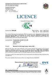 ENEC 7590-008 - ETT Lighting doo