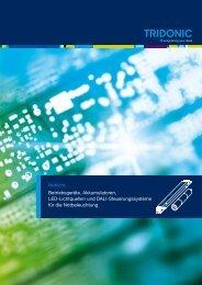 Notlicht Betriebsgeräte, Akkumulatoren, LED-Lichtquellen ... - Tridonic