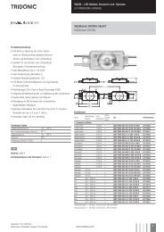 LED-Module, Konverter und -Systeme LICHTWERBUNG - Tridonic