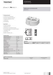 LED-Betriebsgeräte Kompakt Fixed-Output Uconverter LCI ... - Tridonic