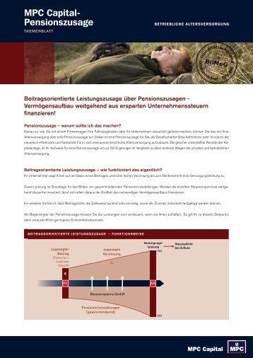 Themenblatt - Triebe Wirtschaftsberatung