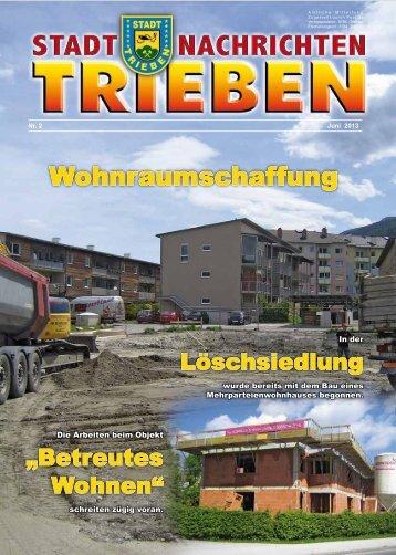 Wohnraumschaffung - Trieben