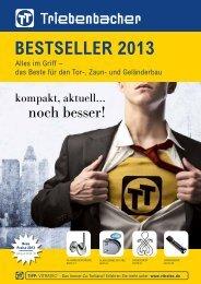Bestseller 2013 - Triebenbacher.de