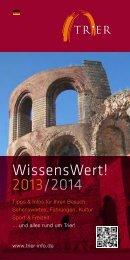 pdf runterladen - Tourist-Information Trier