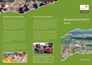 Wegweiser.pdf - Bildungszentrum Triesdorf