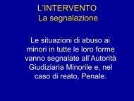L'INTERVENTO La segnalazione - Comune di Trieste