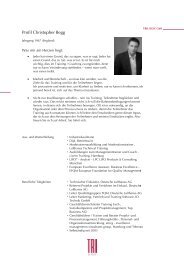 Profil Christopher Begg