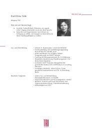 Profil Petra Tölle