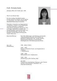 Profil: Michaela Eisele - trilogie