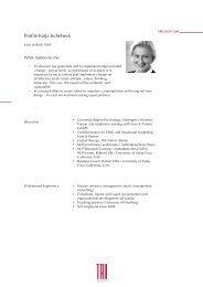 Profile Katja Ischebeck - trilogie
