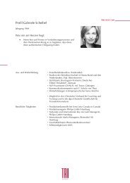 Profil Gabriele Scheibel