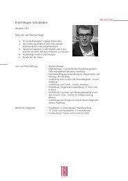 Profil Hagen Schurbohm