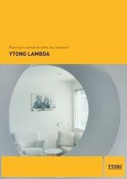 Ytong Lambda - TRIMOT
