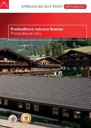Protisněhová ochrana Bramac Protisněhové háky - TRIMOT