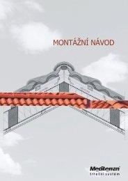 Mediterran montáž návod - Krytiny-střechy