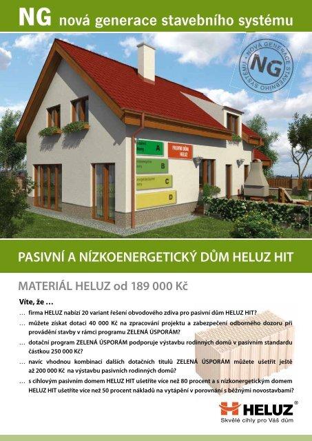 NG nová generace stavebního systému