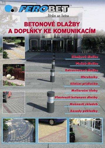 katalog dlažby Ferobet - TRIMOT