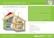 OSB SUPERFINISH® ECO - TRIMOT