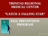 Fall Prevention - Trinitas Hospital