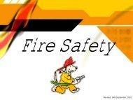 Fire Safety - Trinitas Hospital