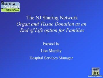 Organ Donation - Trinitas Hospital