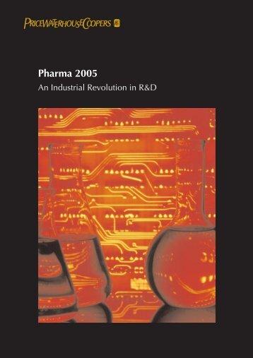 Pharma 2005, PriceWaterCoopers