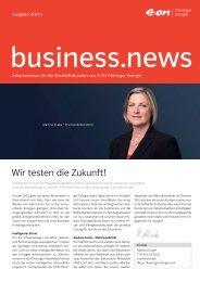 business.news 3/2011 - E.ON Thüringer Energie AG