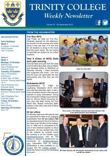 Download pdf - Trinity College