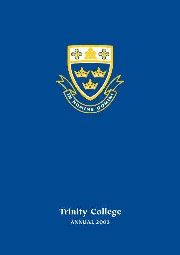 Trinity in 2003 - Trinity College