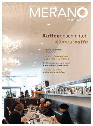 Merano Magazin Winter 2014/2015