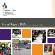 Annual Report 2010 Empowering Students to Achieve