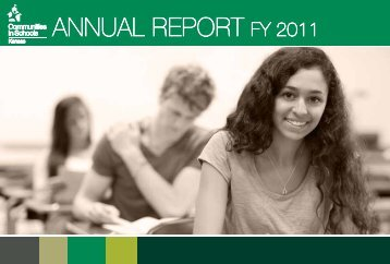 ANNUAL REPORT FY 2011 - Communities In Schools of Kansas