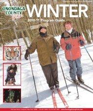 2010-11 Program Guide - Onondaga County Parks